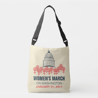 Women's March On Washington Solidarity Crossbody Bag