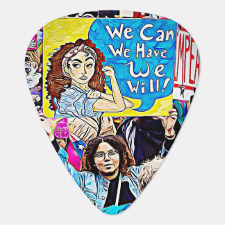 Women's March or Equality LGBT Guitar Pick