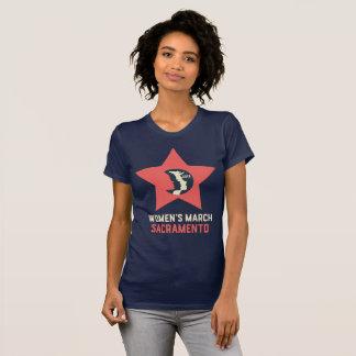 Women's March Sacramento Fitted Women's T-Shirt