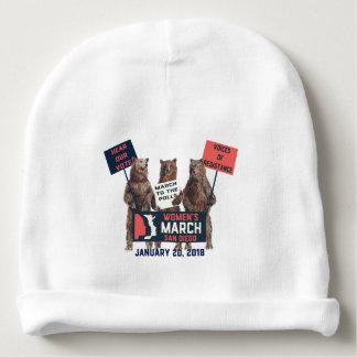 Women's March San Diego Bears Baby Cap Baby Beanie