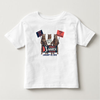 Women's March San Diego Bears Kids Tshirt