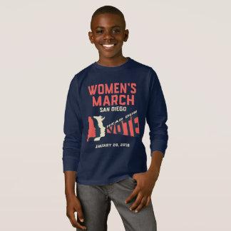 Women's March San Diego Kids Long Sleeve T-Shirt