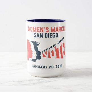 Women's March San Diego Mug