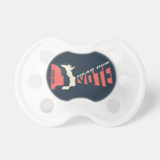 Women's March San Diego Official Baby Pacifier