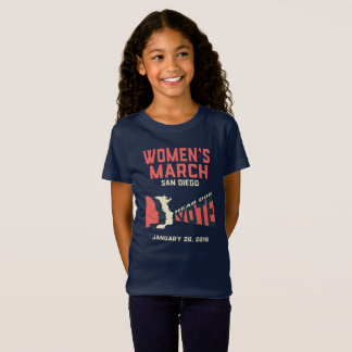 Women's March San Diego Official March Kids Tshirt
