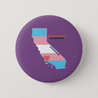 Women's March SLO January Event 6 Cm Round Badge