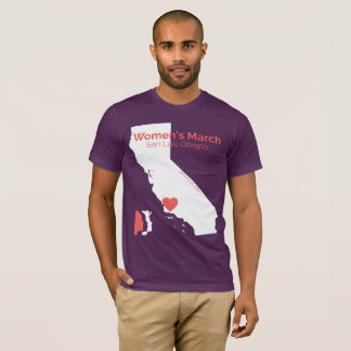 Women's March SLO - Purple Shirt