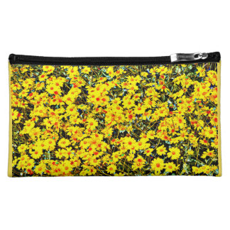 Women's Medium Cosmetic Bag - Wildflowers