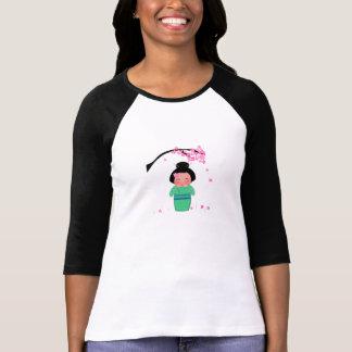 Women's Misaki 3/4 Sleeve Raglan T-Shirt