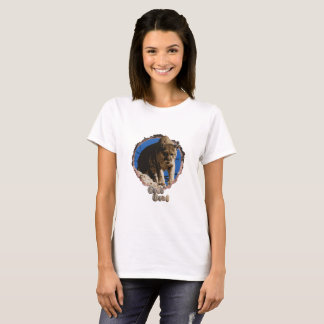 Womens mountain lion T-shirt. T-Shirt