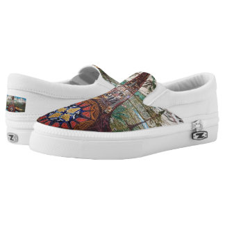 Women's mural shoes