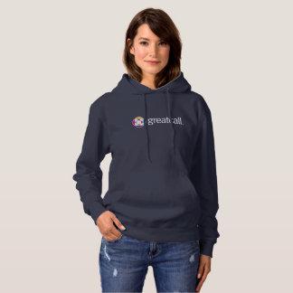 Women's Navy Hoodie