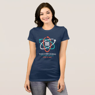 Women's Navy Science March T T-Shirt