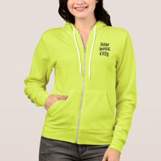 WOMEN'S NEW YORK CITY FLEX FLEECE ZIP HOODIE