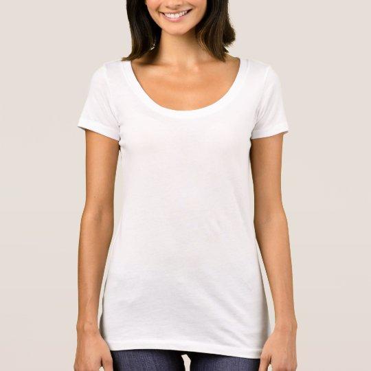 Next Level Scoop Neck T-Shirt, White