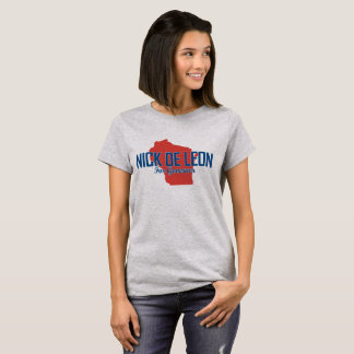 Women's Official Campaign T-Shirt (Gray)