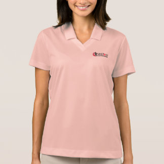Women's Official FAST@50 Nike Pink Polo Shirt
