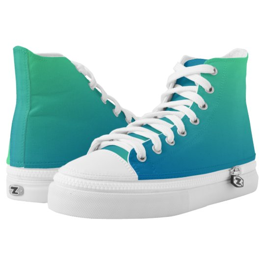 Womens Ombre Shoes High Tops  Trainers