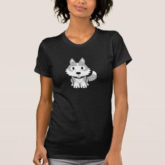 Womens Pale Grey Husky Tshirt