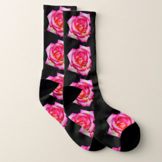 Women's Pink Rose Socks