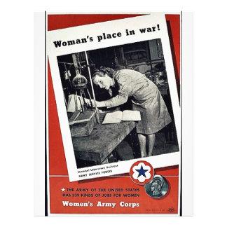 Women's Place In War Custom Flyer