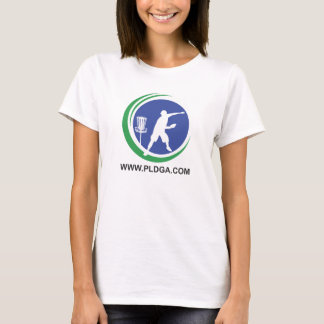Womens PLDGA Logo and Basket Shirt