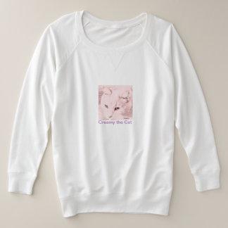 Women's plus-size French Terry Sweatshirt