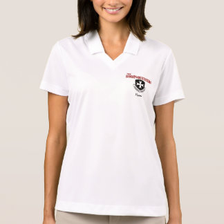 Women's Polo Shirt with Borinqueneers Logo & Name