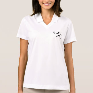 Women's Polo Shirt with TENNIS Insignia