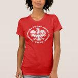 "Women's ""Polska"" Poland T-Shirt with Eagle Symbol"