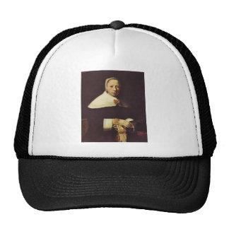 Women's portrait by Johannes Vermeer Trucker Hat
