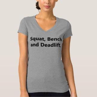 Womens Powerlifting T-Shirt