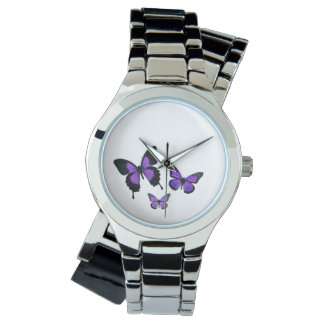 Womens Printed Wrap-around Wrist Watch