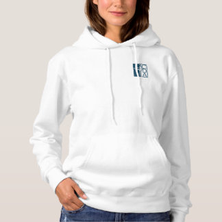 Women's pullover hoodie.