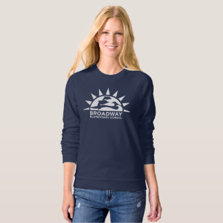 Women's Raglan Navy Sweatshirt