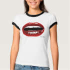"Women's ""Red Lips"" T T-Shirt"
