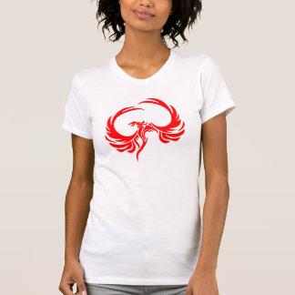 Women's Red Phoenix Logo T Shirts
