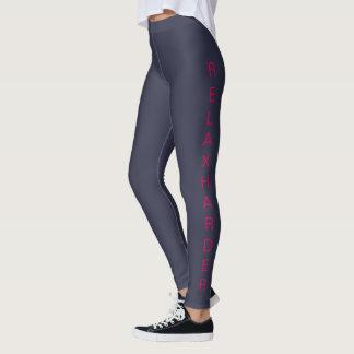 """Women's """"RELAXHARD"""" Casual/Sport/Fitness Leggings"""