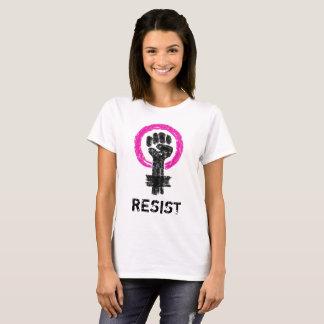 Women's Resistance Grungy Doodle Art Tee