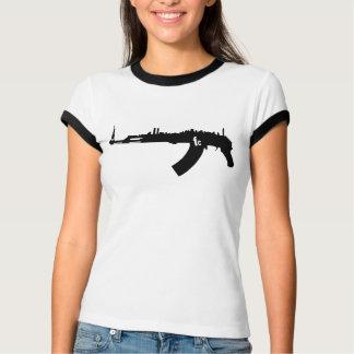 Womens Retro NY AK 47 T-Shirt