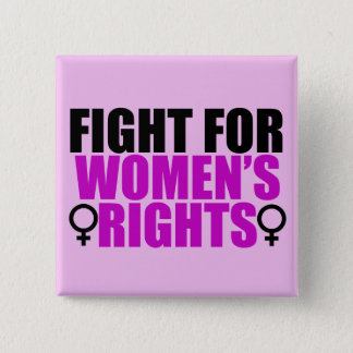 Women's Rights 15 Cm Square Badge