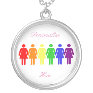 women's rights 2017 LGBTQIA Silver Plated Necklace