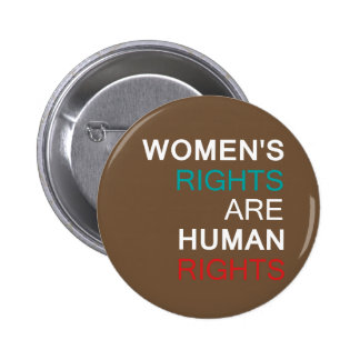 Women's Rights 6 Cm Round Badge