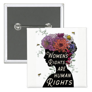 Women's Rights Are Human Rights - Button