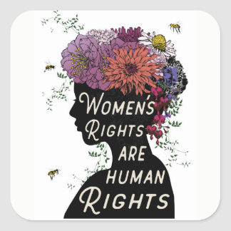 Women's Rights Are Human Rights - stickers