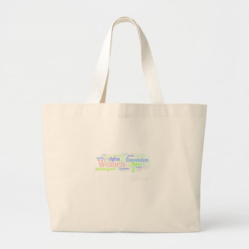 Women's rights canvas bag