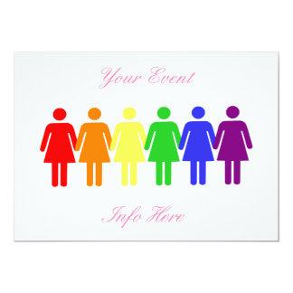 women's rights LGBTQIA Card