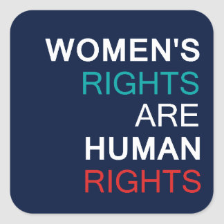 Women's Rights Square Sticker