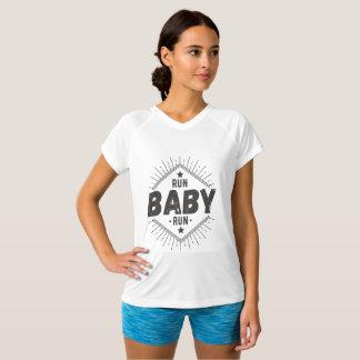 Womens Runing Shirt. T-Shirt