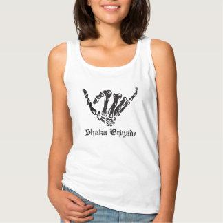 Womens - Shaka Brigade OG Logo Basic Tank Top